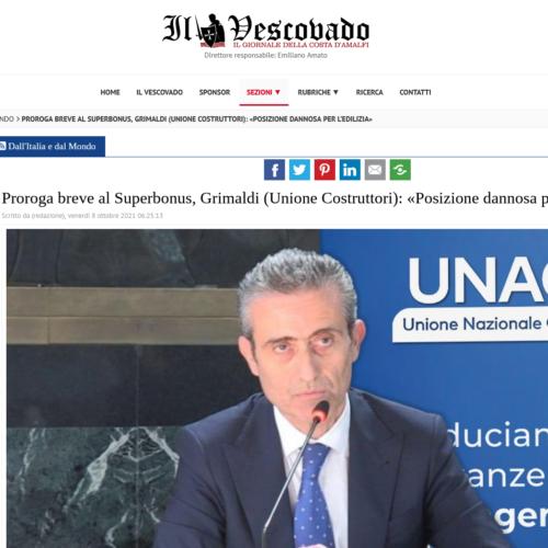 Rassegna Stampa – Il Vescovado 08/10/2021